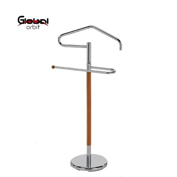 Clothes Rack Metal Valet Stand