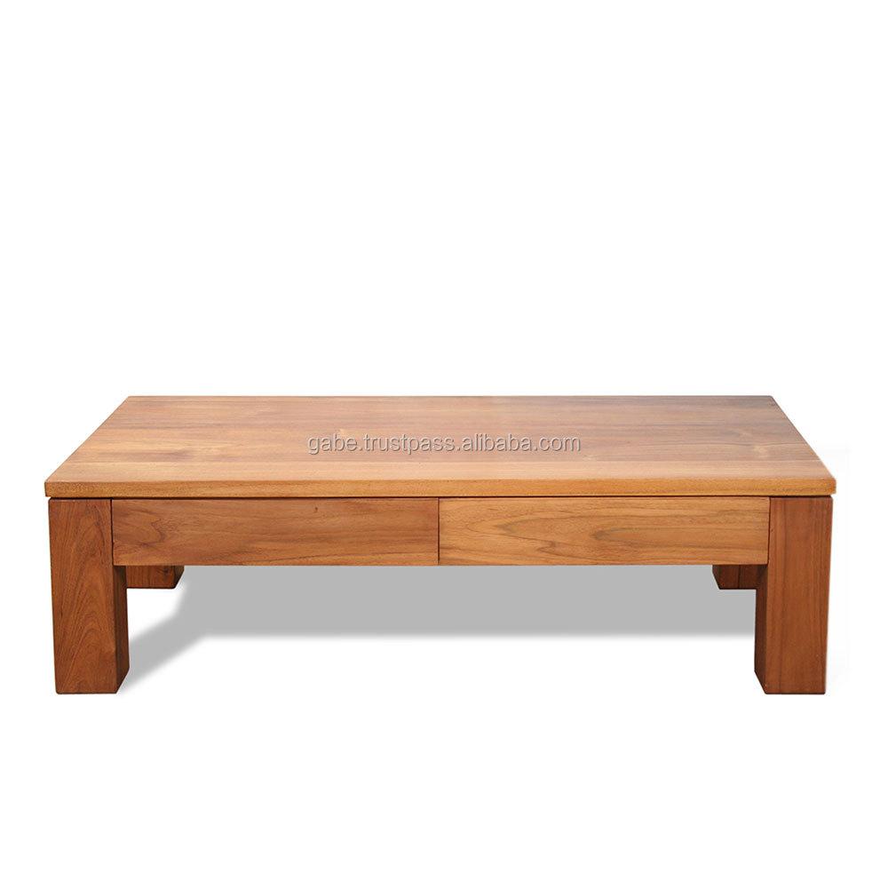 Zen Coffee Table Minimalist Style With