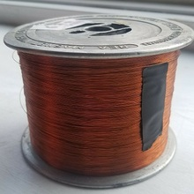 Ultra Fine 0.015mm Grade 0 Class 155 Enameled Copper Round Wire for Brushless