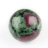 Natural Ruby Zoisite Stone in Wholesale Loose Gemstones Spheres Balls Home Decor Crystal Designer Gemstones 51mm - Customized