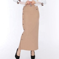 long skirt with elegant design