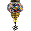 Mosaic Candle holder Hanging Turkish Lamp Cheap Traditional Mosaic Lamp Made in Turkey Hot Sale