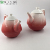 Promotion gradient red ceramic tea coffee milk teapots with lid