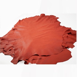 Sheepskin leather hides Tangerine Orange Sheep leather | Lamb Skin Napa Soft Leather Finest Quality Wholesale Sheep Hide