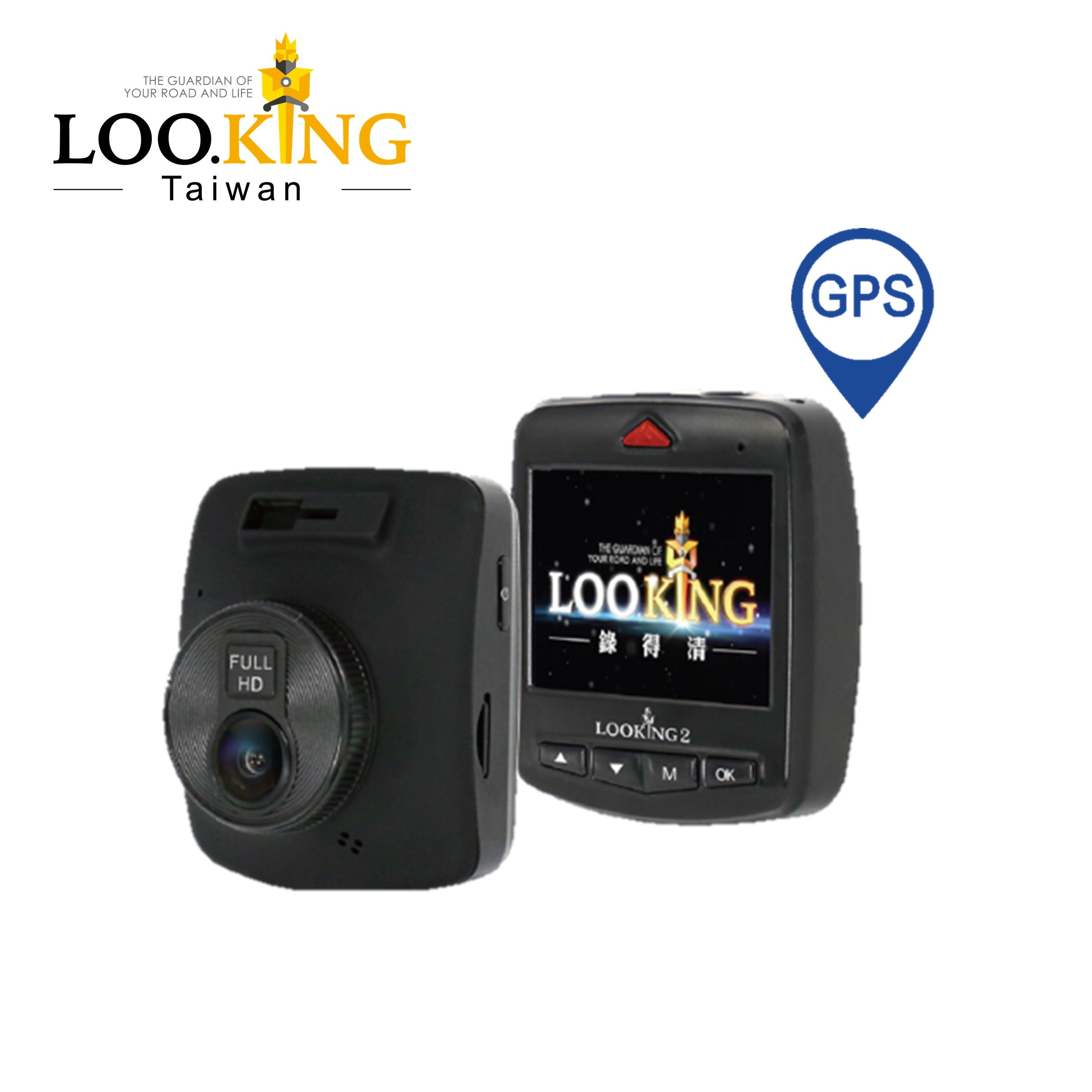 ĐÀI LOAN Hot-bán FHD 1080 P gps dashcam