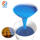 blue color silicone rubber for moulds making 2 component liquid silicon raw material Honglian silicone cheap price