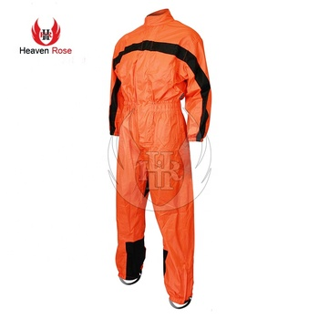 Motorcycle Biker One Piece Rain Suit Heaven Rose Rain Gear Features Quality Waterproof Fabrics Polyester Mesh Lining