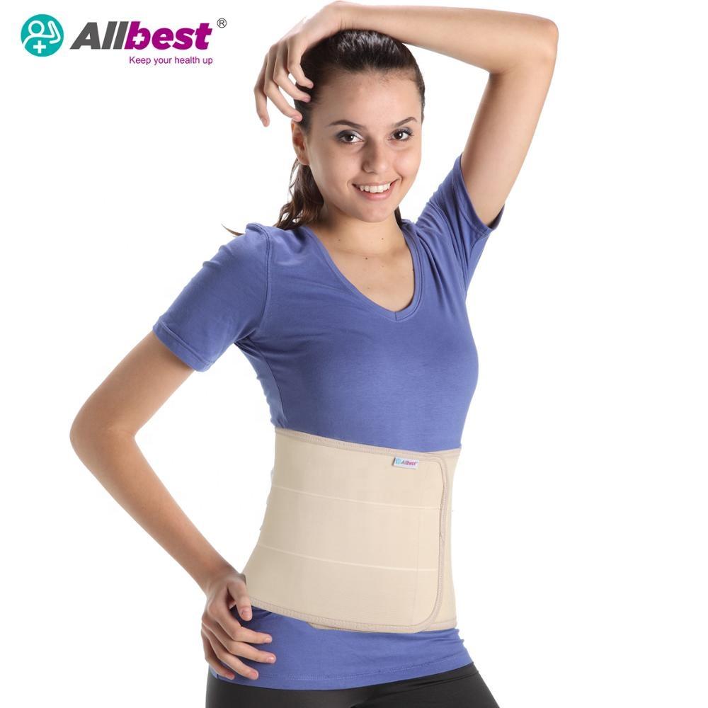 3 painéis abdominal binder belt