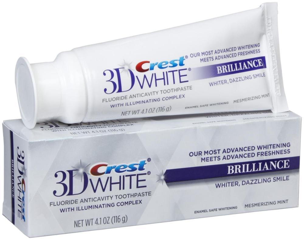 Crest 3d White Brilliance Toothpaste Teeth Whitening Toothpaste
