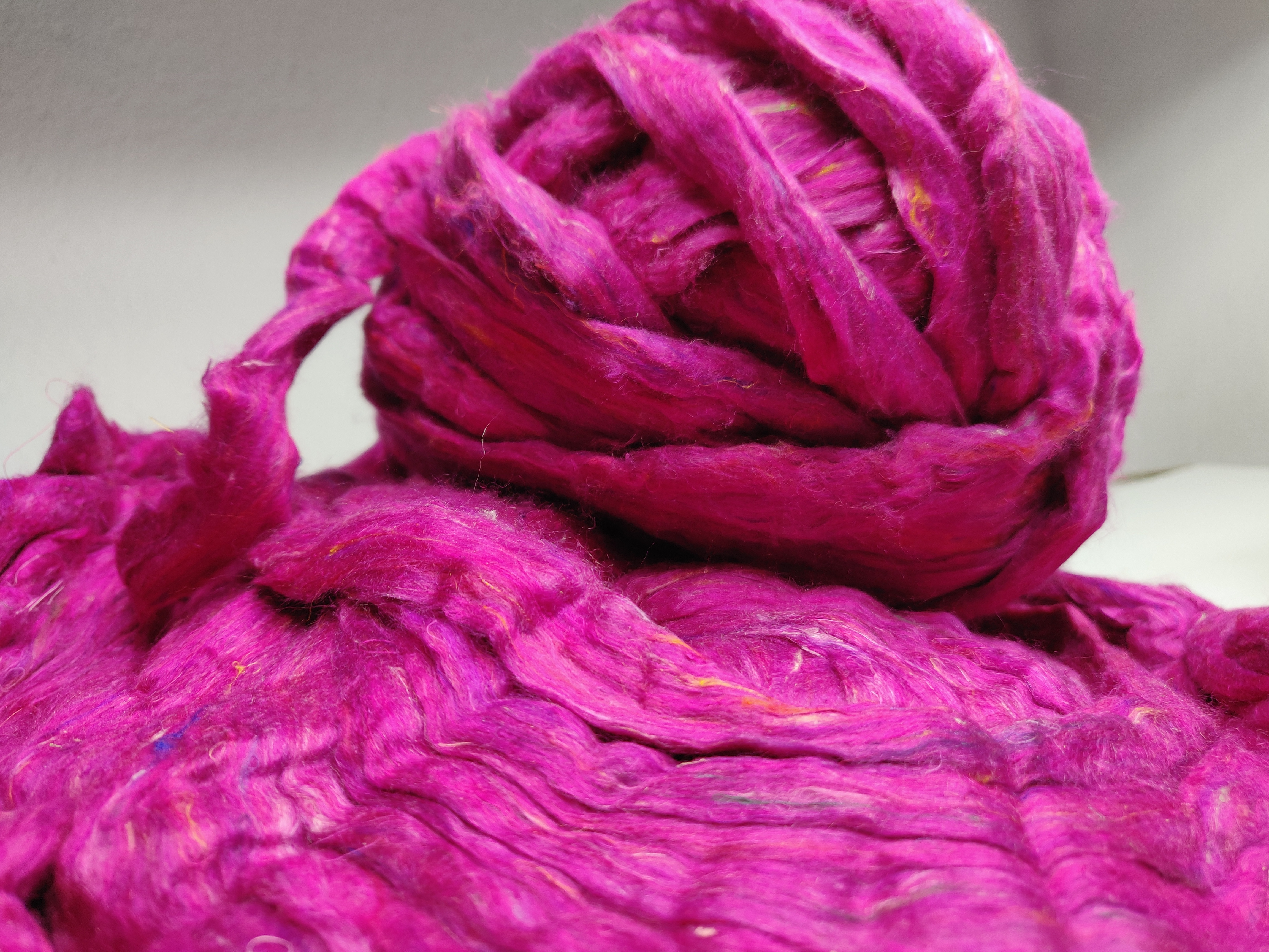 Recycle Silk Fibre