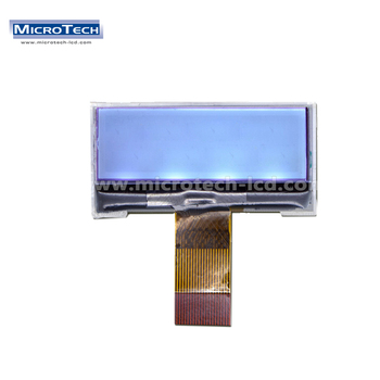 FSTN Monochrome Type LCD 128X64 Dots Graphic Display 0.8Pitch 28Pin