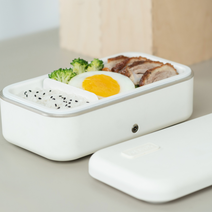 A4box Electric lunch box Heated Portable Compact Food Warmer Lunch Box/Plastic heated food warmer container
