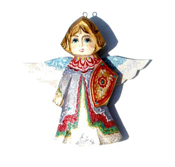 Angels New Year Tree Decorationdifferent Colorsrussian Folk Art For Sale Buy Angelswooden Angelsangel Decoration Product On Alibabacom