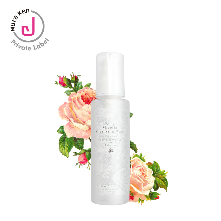 OEM ODM Make-Up Remover Rose Micellaire Reiniging Water