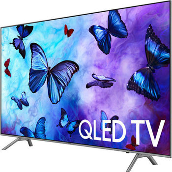 "QN82Q6FN Flat 82"" QLED 4K UHD 6 Series Smart TV 2018"