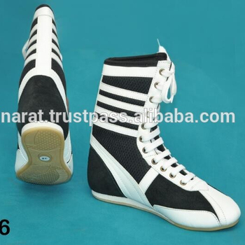Custom Design Boxing Shoes Training Shoes Lace up shoes,professional trainer shoes