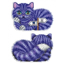 """O Gato de Cheshire"" Hot Vender Colorido Cross-Stitch Kits"