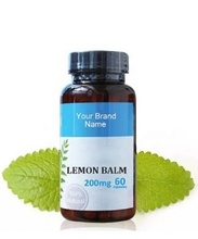 Lemon Balm Suplemento Alimentar Natural Private Label | Atacado