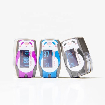 Oxy Panda Fingertip Pulse Oximeter For Baby Oxygen Saturation Monitor SpO2 Machine Made in Taiwan