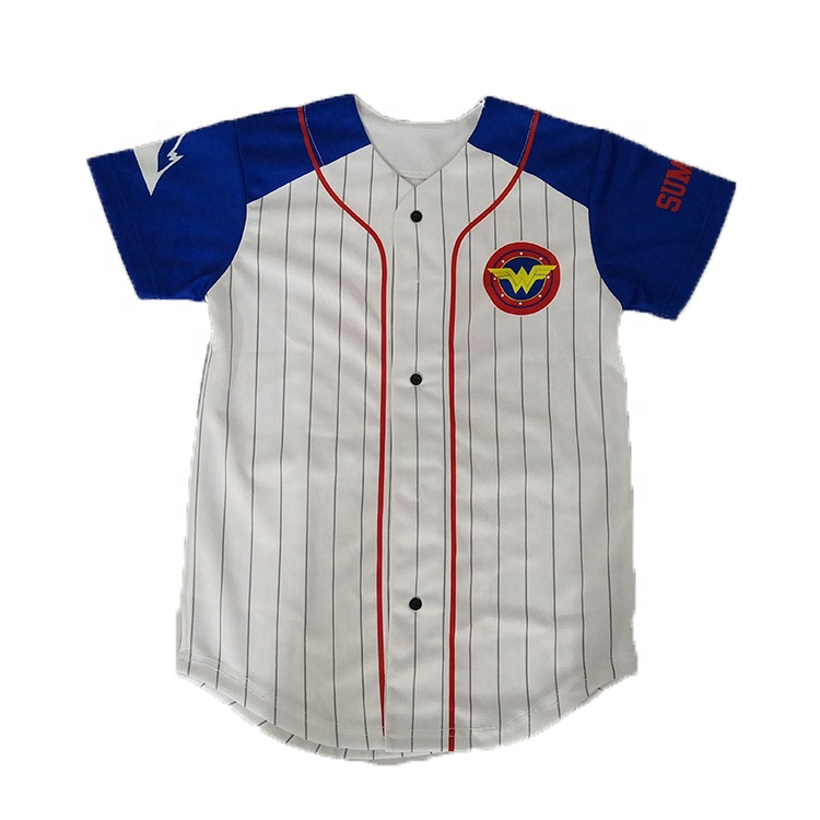 Best selling plain baseball jersey voor kids
