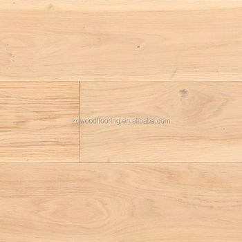 Hand Sed And Wire Brushed White Oak Multi Layer Engineered Wood Flooring Sports