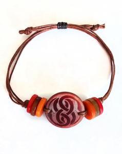 HANDMADE BRACELETS, Tagua bracelet, multicolor bracelet. Colombian bracelets.