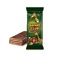 High-quality flavor chocolate, hazelnut candy wafers