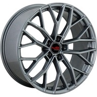 Legeartis Optima A128 Alloy Replica Wheels/Rims fit for Audi R 19,20 inch 5x112 retail, GUN METAL, SILVER