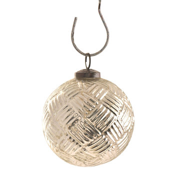 Handmade Glass Clear Christmas Ornaments Hanging Ceiling Hanging Christmas Decorations