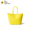 Fashion silicone beach tote bag