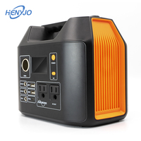 Aluminum Alloy Shell 500W 12 Volt Portable Power Pack Camping Portable Solar Generator Kit For House