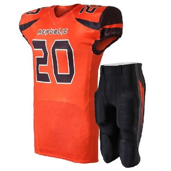 Cheapest american football jersey Quick Dry Professional American football wear ,football uniform , football jersey