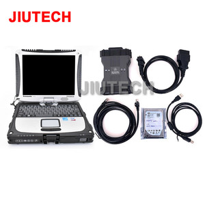 Toughbook cf19 for Benz C6 VXDIAG MB STAR diagnostic tool scanner SD Connect C6 DOIP replace mb sd c4 with xentry das wis epc