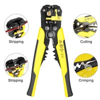Multi Functional Cutting Crimping tools AWG24-10(0.2-6mm) Automatic Wire Stripper