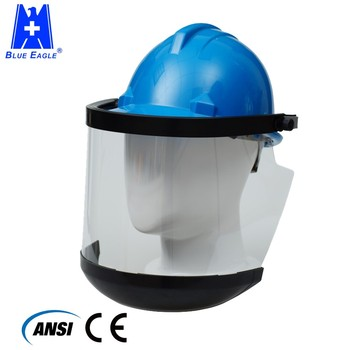 PPE gear electrical equipment safety helmet visor for workplace