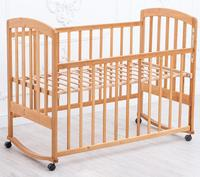 "Hot selling mobile kids children's ""Sonya"" swing bed wooden cot cheap baby crib"