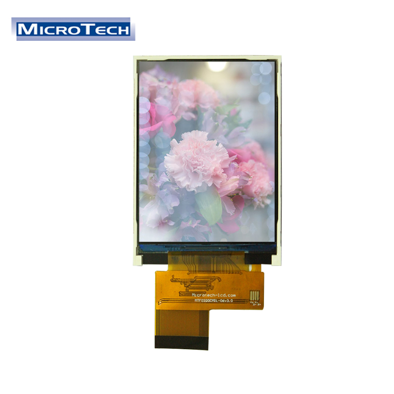 Professional 풀 컬러 led hd 비디오 Touch 톱 Capacitive 막 방식 Touch Screen 부 칙 (4/5 선) 3.2 Inch Mini LCD Panel Display LCD Module