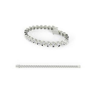 18k White Gold Diamond Bracelet Women for Sale