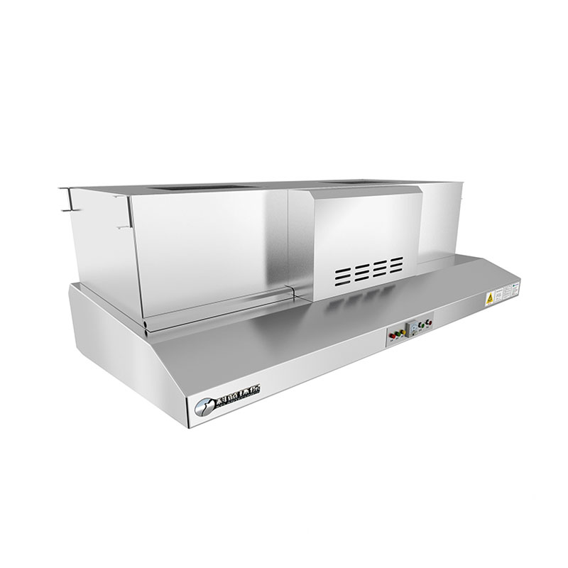 Hood Style Cooking Fume And Smoke Extraction System With Esp For Restaurant  Exhaust Ventilation - Buy Smoke Extraction System,Hood Esp,Restaurant