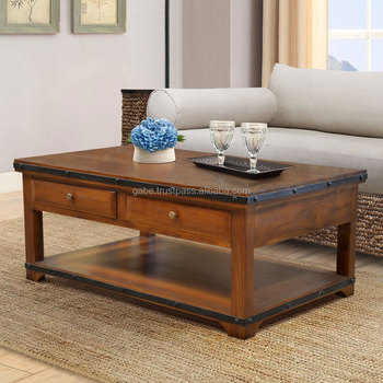 Teak Coffee Table Industrial Malta Teak Furniture Indonesia With