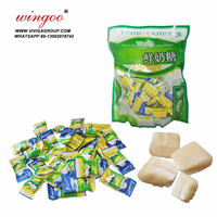 halal tablet milk flavor chewy soft candy in bag packing