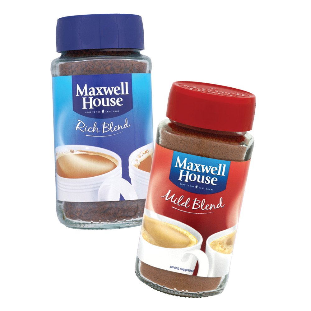 Instant Coffee Maxwell House 100g Premium View Maxwell House Kvik Productions Beverage Product Details From Kvik Production As On Alibabacom
