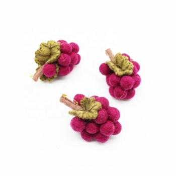 Felt Brooch Wool Felting Handmade Accessories Eco-friendly and Hand-felted by Artisans of Nepal Festive and Occasions Crafts