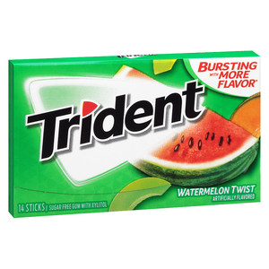 Trident Watermelon Twist Chewing Gum