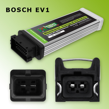 PT E85 - Ethanol Conversion Kit - Bosch EV1 - Converter ECU with D Cable for 6 cylinders - any mix of bioethanol & petrol