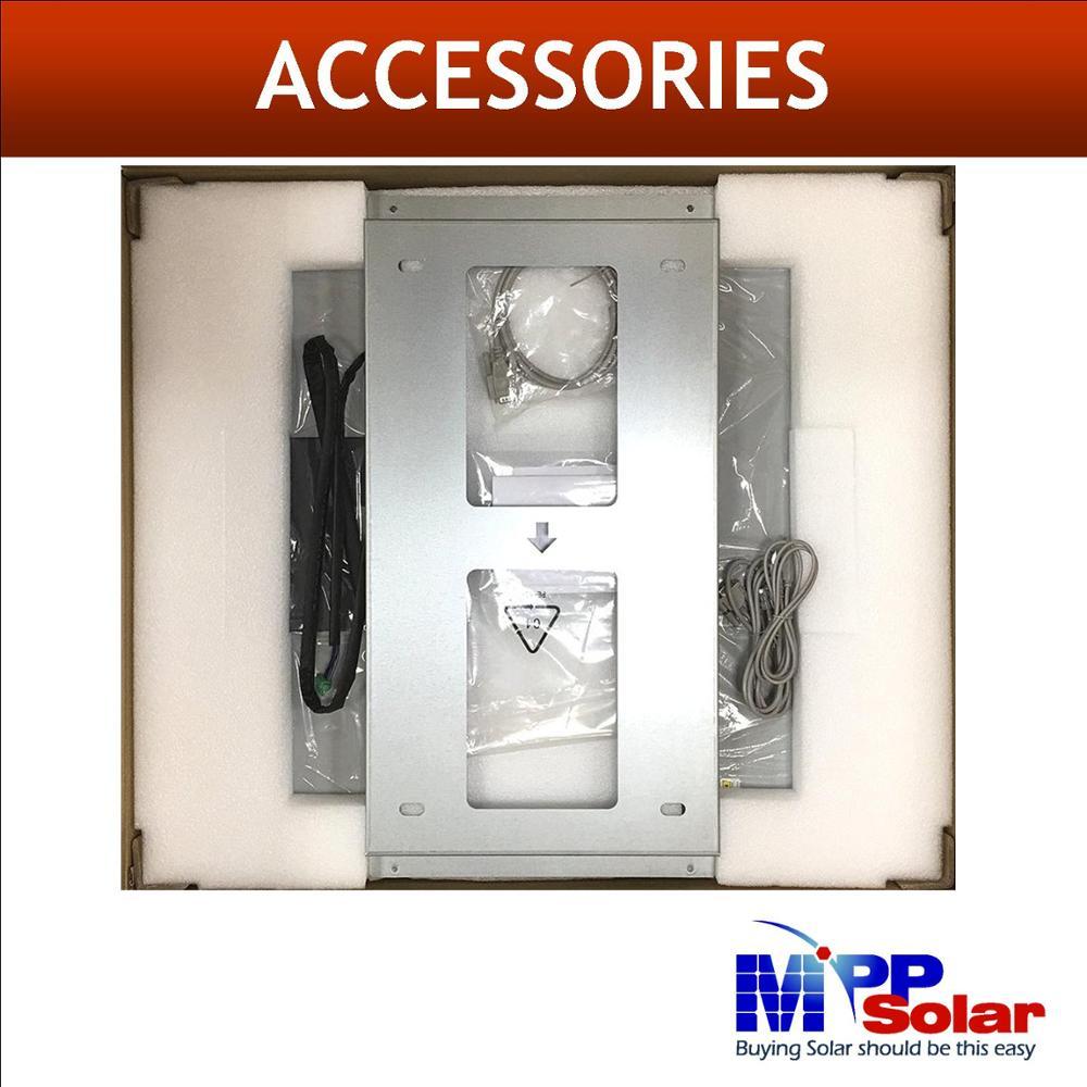 Split Phase Solar inverter 5000w 48vdc 110v 220v + Dual 80A mppt solar charger + battery charger parallel able