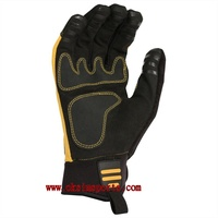Oil and Gas Industries synthetic leather anti cutting tpr safety mechanical gloves