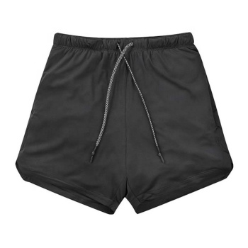 Custom logo gym shorts wholesale plain blank running shorts  men sports shorts