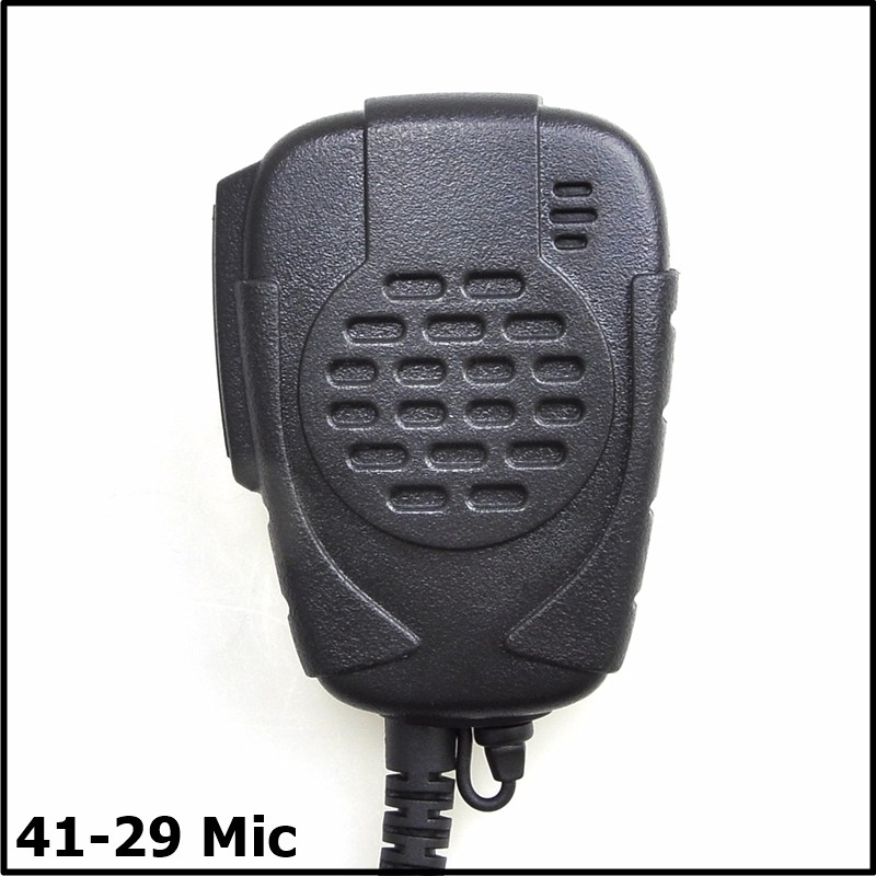 High Quality black ham radio 3.5mm jack wired microphone