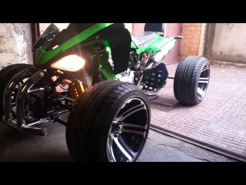 Quad 250cc atv utv drift engine sound